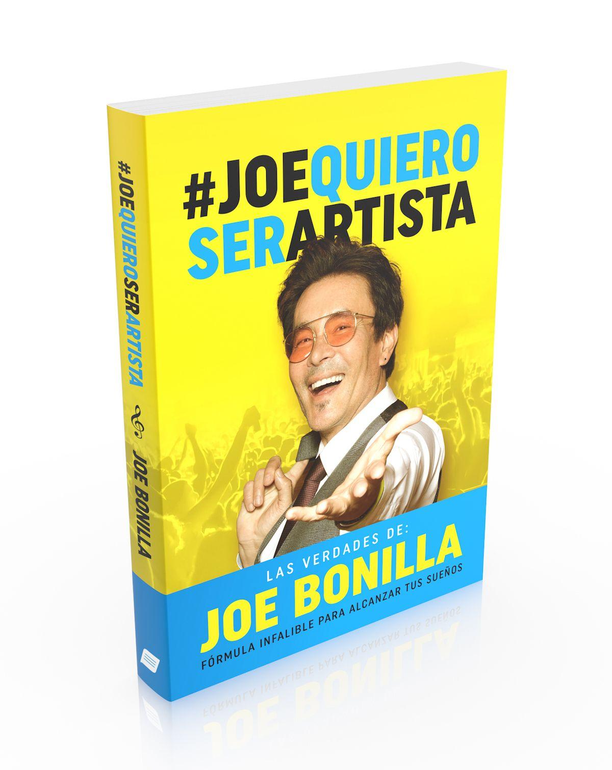 En esta imagen difundida por la editorial Página Azul, la portada del libro #JoeQuieroSerArtista de Joe Bonilla.