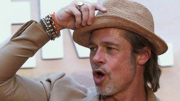 Brad Pitt en la alfombra roja de la película Once Upon a Time... In  Hollywood en la Ciudad de México el 12 de agosto de 2019. La cinta se  estrena el 23 de agosto en México.