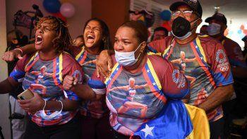 Fiesta en casa de Yulimar Rojas en Venezuela tras su hazaña olímpica