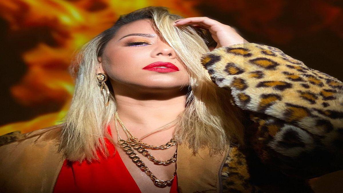 La cantante cubana Srta. Dayana.