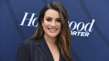 En esta imagen del 30 de abril de 2019 se ve a la actriz Lea Michele en la gala de The Hollywood Reporters Empowerment in Entertainment en Los Ángeles.