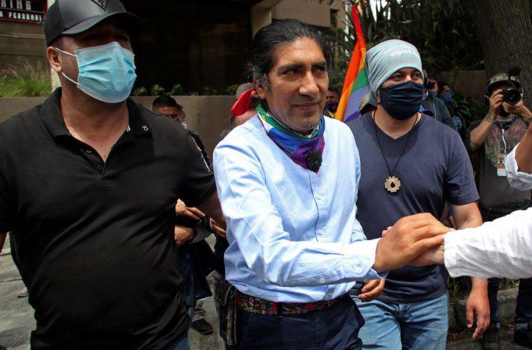 El activista ambientalista y de derechos indígenas Yaku Pérez