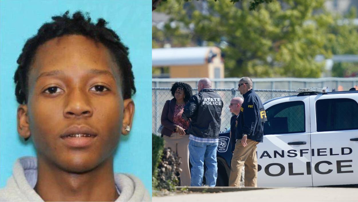 Las autoridades en Texas buscan al presunto responsable de un tiroteo en una escuela, a quien identificaron como Timothy George Simpkins.