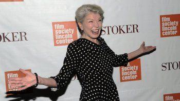 En esta foto de archivo del miércoles 27 de febrero de 2013, la actriz Phyllis Somerville asiste al estreno de Stoker en el Teatro Walter Reade de Nueva York.