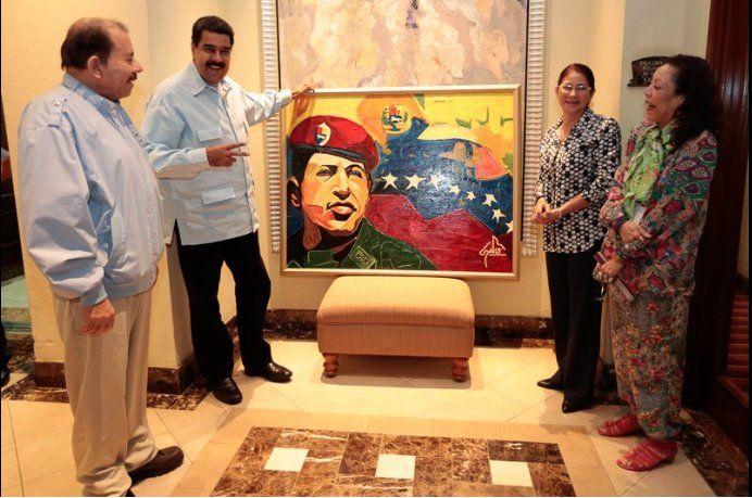 Los dictadores de Nicaragua y Venezuela