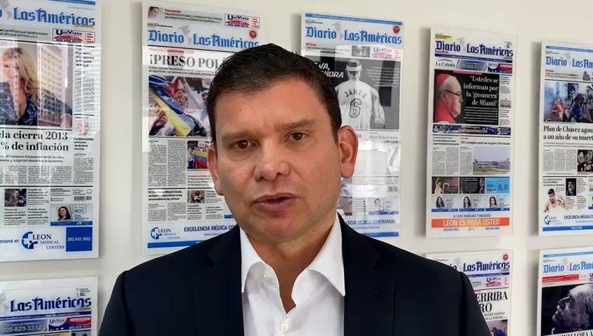 El senador y precandidato presidencial colombiano John Milton Rodríguez.