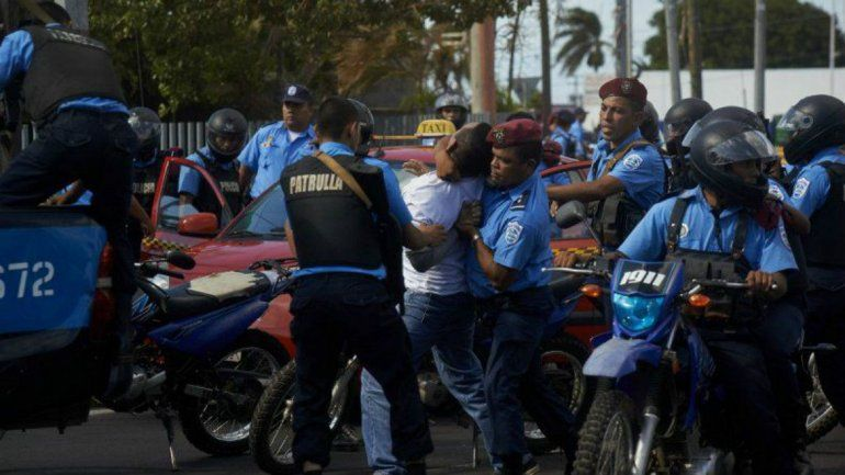 La Policía de Nicaragua ha sido señalada de abusos a los derechos humanos. Según la CIDH