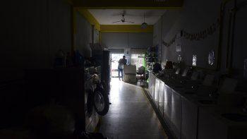 Un servicio de lavandería en San Juan, Puerto Rico, poco antes del cierre ordenado por las autoridades para combatir el coronavirus, 20 de marzo del 2020.