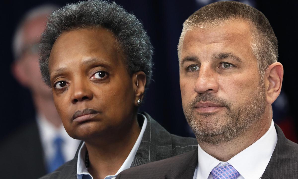 La disputa entre la alcaldesa Lori Lightfoot, y el presidente del sindicato de la policía, John Catanzara, se ha convertido en epicentro de un debate