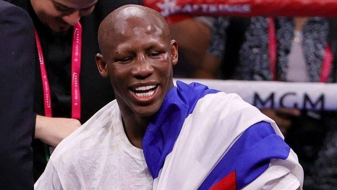 El boxeador cubano Yordenis Ugás