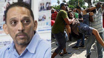 El periodista independiente Rolando Rodríguez Lobaina denuncia: Es impresionante el odio con el que reprimen a quienes reclaman sus derechos