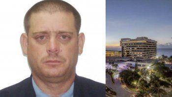 Luis Lima, que iba dentro de un elevador que cayó desde el sexto piso del Meliá Habana dos semanas atrás, sufrió graves heridas, por lo que fue trasladado al hospital Calixto García de La Habana.