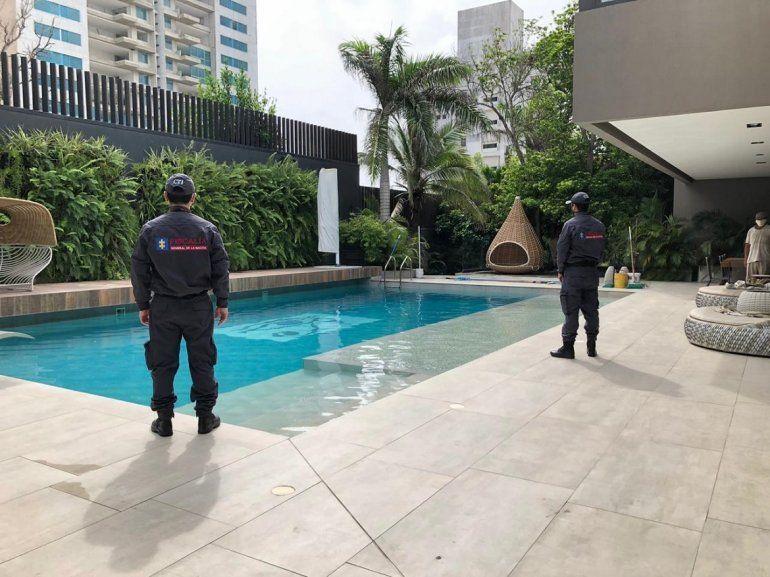 La Fiscalía de Colombia publicó las imágenes de la casa de Alex Saab confiscada este miércoles. La propiedad tiene un valor aproximado de 8 millones de dólares.