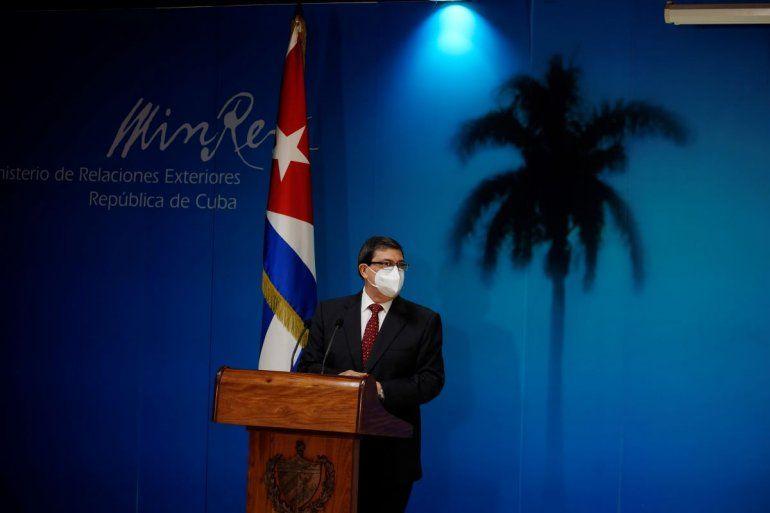 El ministro de Relaciones Exteriores de Cuba