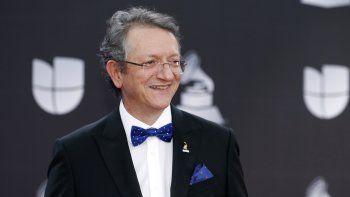 El presidente y CEO de la Academia Latina de la Grabación, Gabriel Abaroa Jr., llega a la 20ma entrega anual de los Latin Grammy el 14 de noviembre de 2019 en Las Vegas.