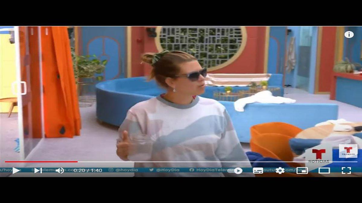 Alicia Machadoen La casa de los famosos.