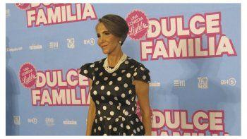 En esta fotografía del 2 de mayo de 2019, Florinda Meza de la película mexicana Dulce Familia posa durante una conferencia de prensa en la Ciudad de México. La película se estrena el 10 de mayo en México.