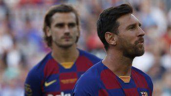 Messi, que no ha jugado aún con Barcelona esta campaña debido a una lesión muscular, indicó que los jugadores nunca pidieron formalmente el regreso de Neymar.
