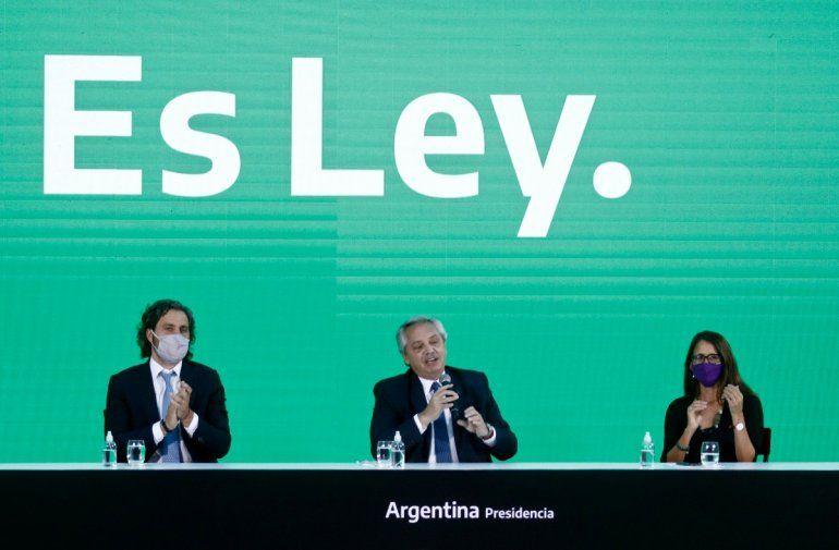 El presidente de Argentina