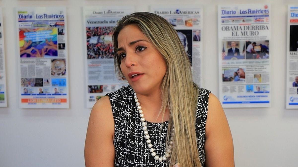 Carolina Ribera, hija de la expresidenta interina de Bolivia, Jeanine Áñez