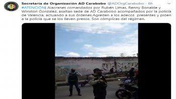 La disputa se remonta a la sentencia del Tribunal Supremo de Justicia (TSJ), al servicio del régimen de Nicolás Maduro, descabezó a la cúpula de Acción Democrática para poner al frente a Bernabé Gutiérrez, considerado afín a las tesis chavistas, en un momento clave por el debate abierto sobre la participación en las elecciones parlamentarias de diciembre.