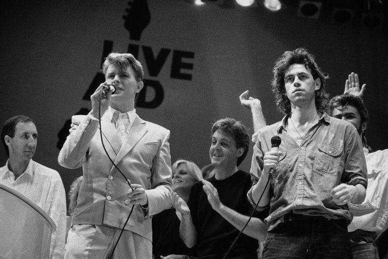 En esta foto del 13 de julio de 1985