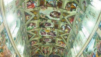 La Capilla Sixtina, que forma parte de los Museos Vaticanos, en el Vaticano, Italia. El martes, 20 de abril de 2021, lanzaron serie de videos sobre los Museos Vaticanos.