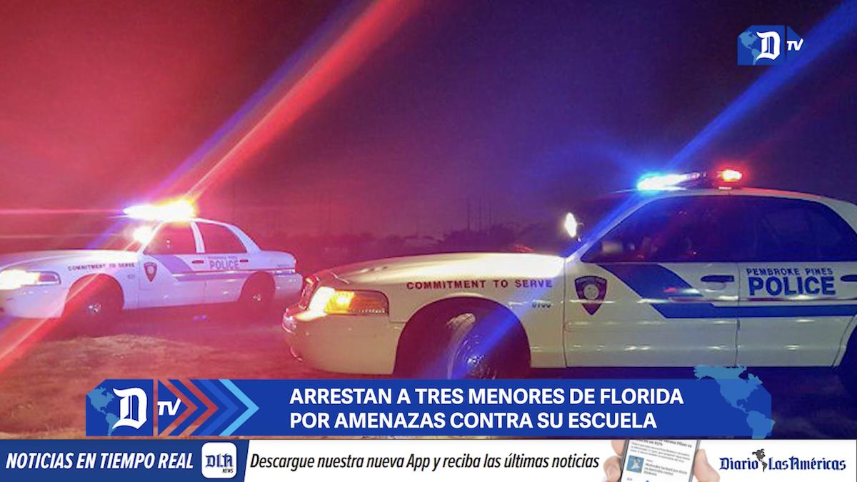 arrestan a tres menores de florida por amenazas contra su escuela