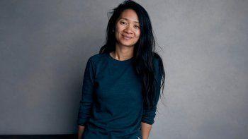 La directora y guionista Chloe Zhao, una de las mujeres que conquistan esta edición de la Mostra de Venecia, posa en el Festival Sundance, Park City, Utah, en esta fotografía del 22 de enero de 2018.