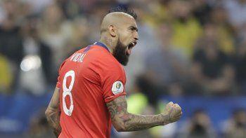Lo que pasó entre Perú y Colombia son cosas del fútbol, opinó el volante chileno Arturo Vidal el lunes. No les tenemos nada de rabia. Este partido es diferente, es para pasar a una final.