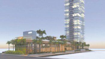 La torre 2000 Ocean tendrá servicio de valet parking y vigilancia 24 horas, dos piscinas, spa, hammam, gimnasio, una biblioteca frente al mar, un restaurante y un bar de jugos.