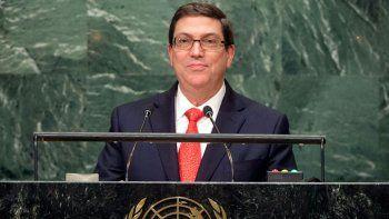 Rodríguez reiteró en Naciones Unidas que su país no ha perpetrado ni perpetrará acciones de esta naturaleza, ni ha permitido ni permitirá que su territorio sea utilizado por terceros con ese propósito.