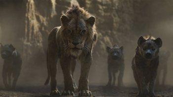 """Una escena de The Lion King en una imagen proporcionada por Walt Disney Pictures. El uso de la pared de video LED que se empleó en """"The Lion King"""" y """"The Mandalorian"""" se podría generalizar a medida que Hollywood retoma la producción durante la pandemia."""