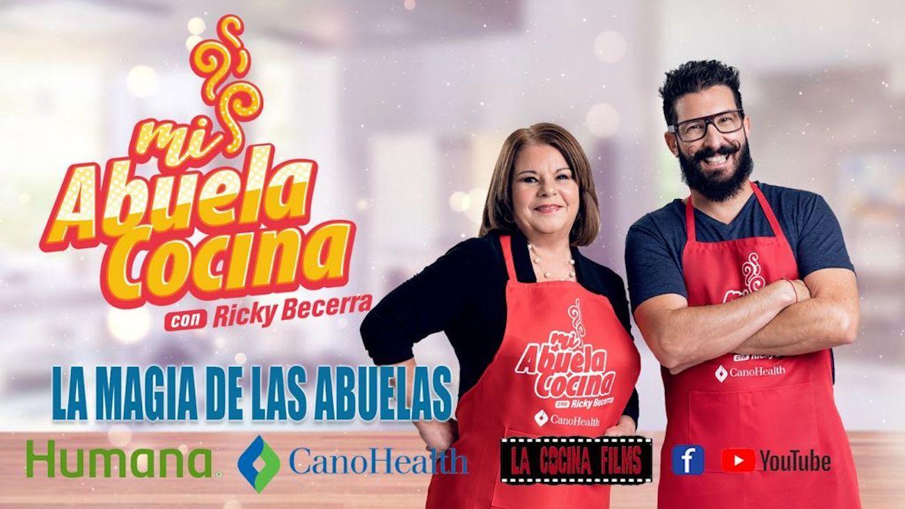 El programa de televisión Mi abuela cocina es presentado por Ricky Becerra.