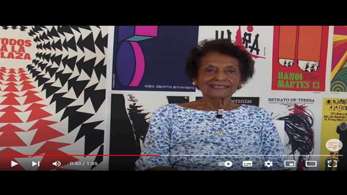 La periodista y escritora cubana Marta Rojas.