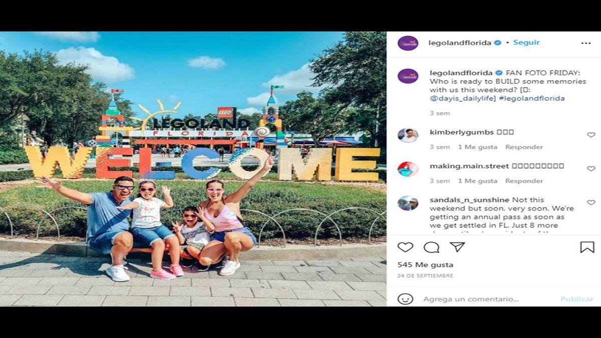 Legoland abrirá parque de Peppa Pig en Florida.