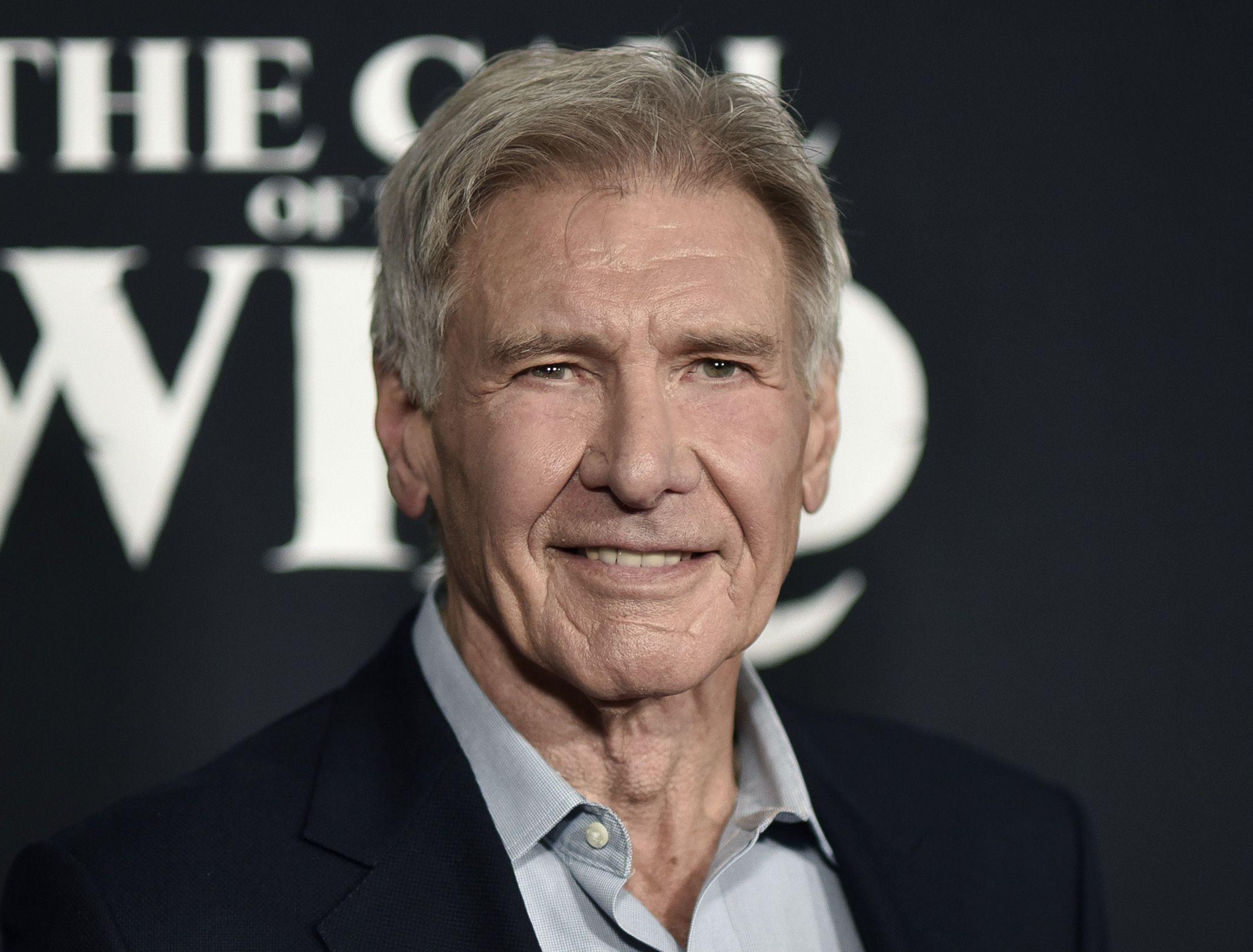 Fotografía de archivo del 13 de febrero de 2020 de Harrison Ford durante el estreno de la cina The Call of the Wild en Los Angeles.