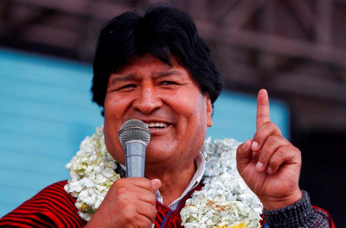 El expresidente boliviano Evo Morales.