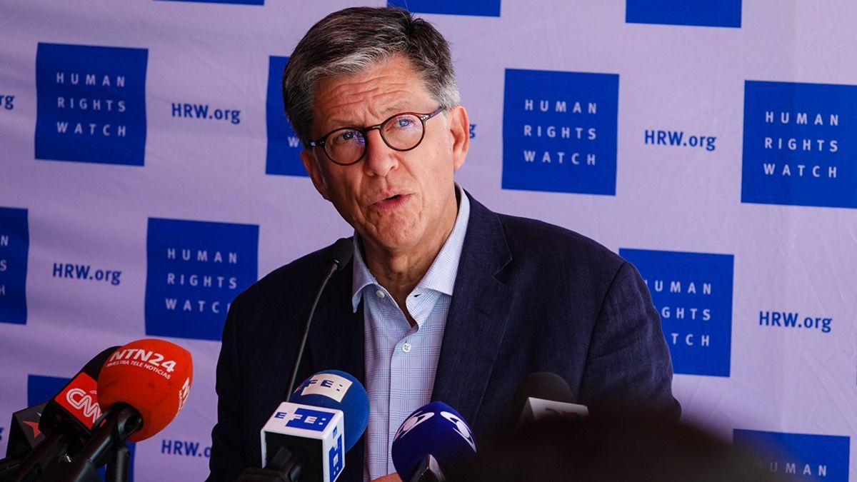 José Miguel Vivanco, director para las Américas de Human Rights Watch.