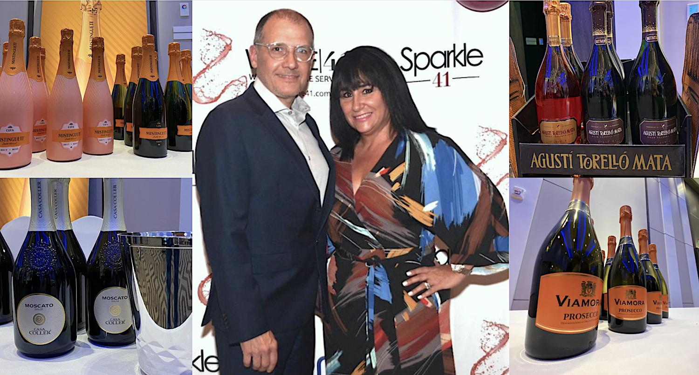 Luis Montoto y Maylen González Montoto en la noche previa a la inauguración del Festival Sparkle 41.