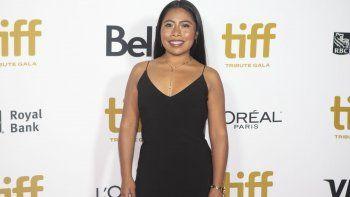 La actriz Yalitza Aparicio llega a la Gala Tributo del Festival Internacional de Cine de Toronto el 9 de septiembre para reconocer a creadores destacados en la industria cinematográfica en Toronto.