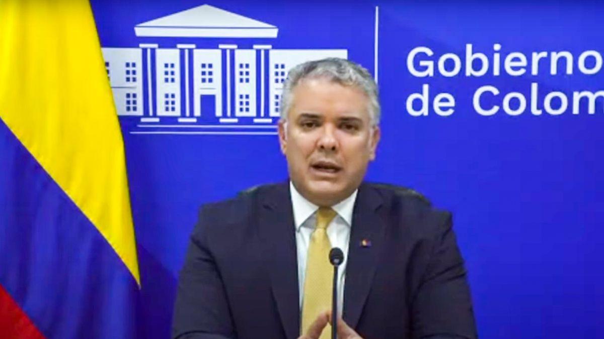 El presidente colombiano Iván Duque.