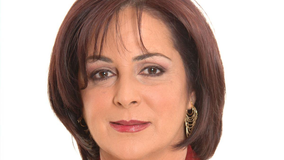 La presentadora radial Lourdes DKendall.