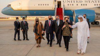El secretario de Estado de Estados Unidos Mike Pompeo se encuentra realizando una gira por Europa y Oriente Medio que finalizará el próximo lunes