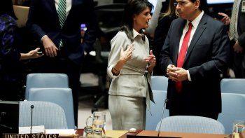 Estados Unidos se quedó solo en el Consejo de Seguridad defendiendo su decisión de reconocer Jerusalén como capital de Israel, un paso que ha desatado las alarmas por los riegos de que derive en una escalada del conflicto en Oriente Medio.