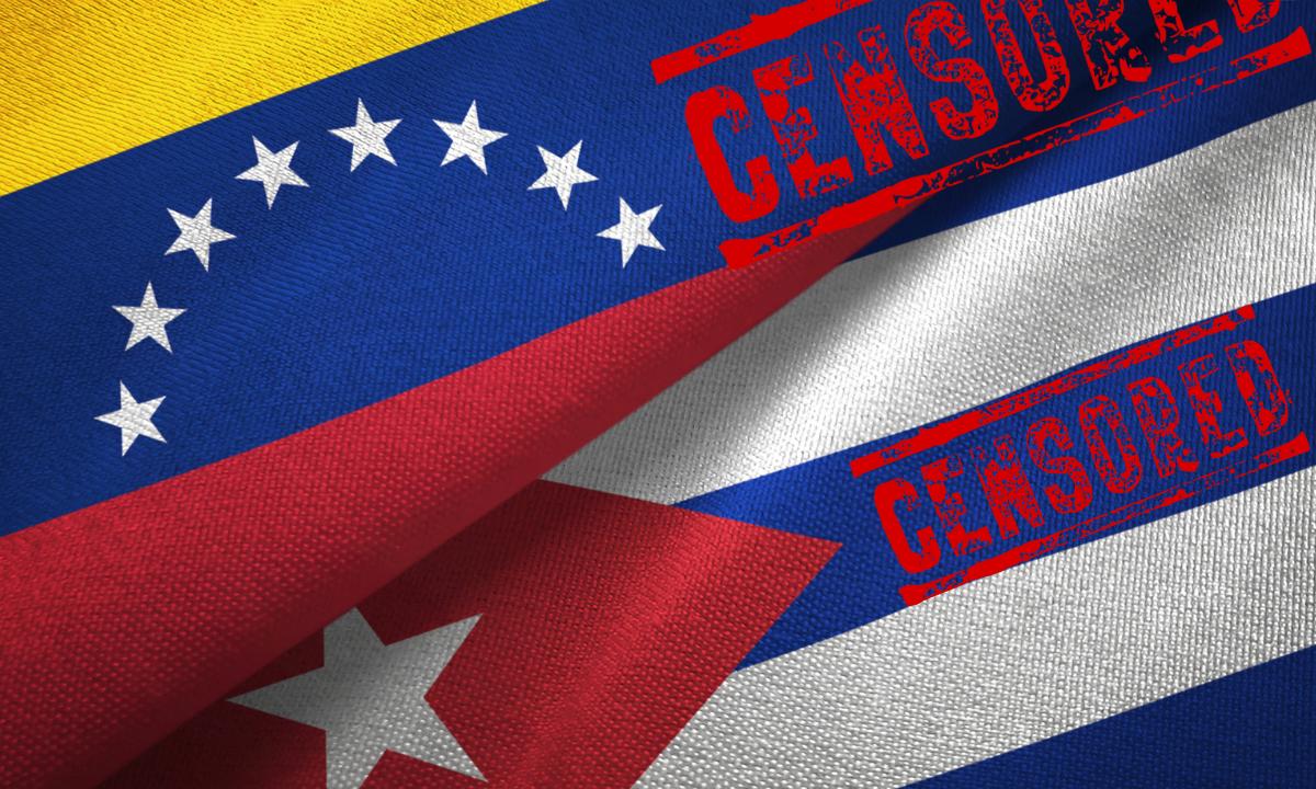 Cuba y Venezuela, reinas en falta de libertades digitales