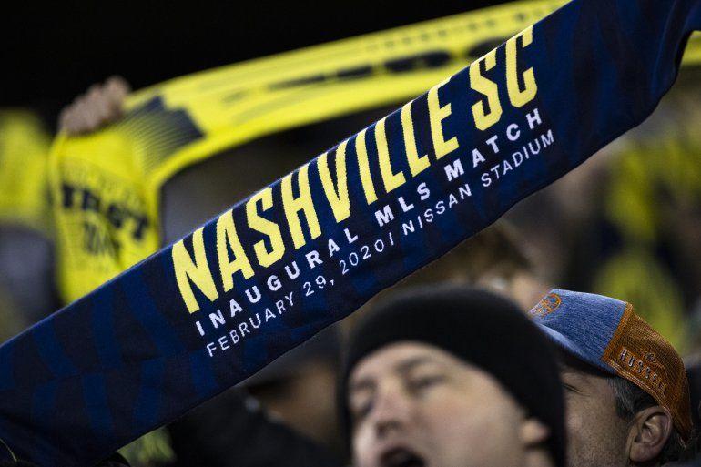 La MLS explicó que dos jugadores del Nashville SC