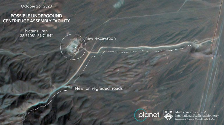 En esta imagen satelital