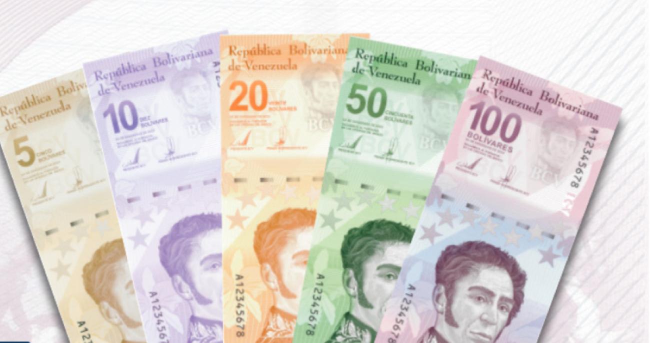 Los bancos en Venezuela cuentan con los nuevos billetes de bolívares