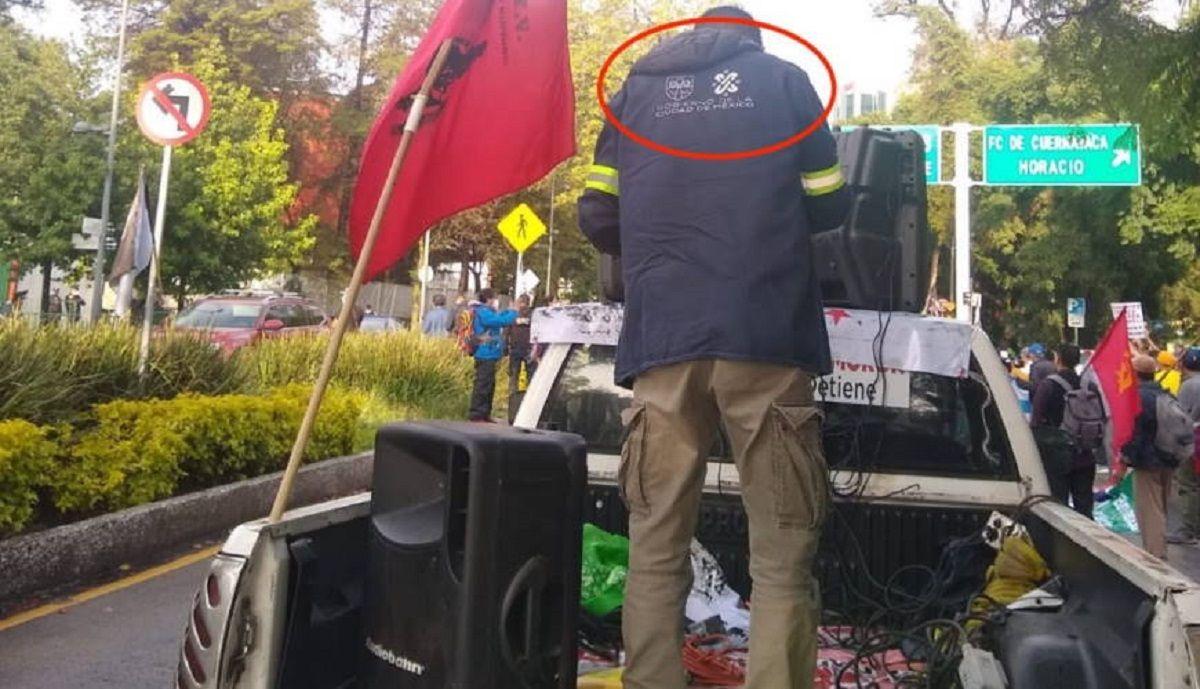 Gobierno de Ciudad de México ayuda a enviados castristas a reprimir protestas